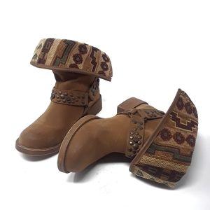 Blowfish Southwestern Boots Size 6.5